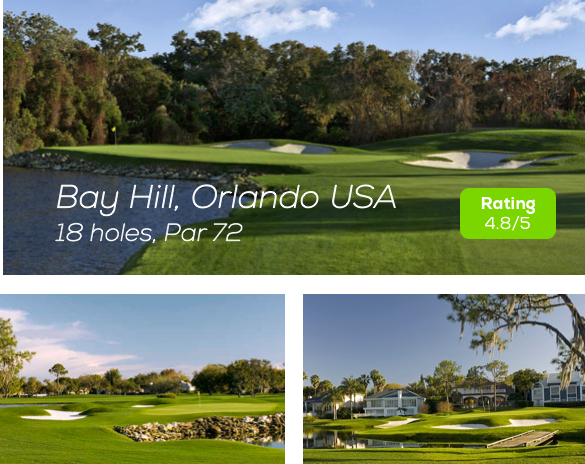 Hole19 - Bay Hill Golf Course, Orlando rating