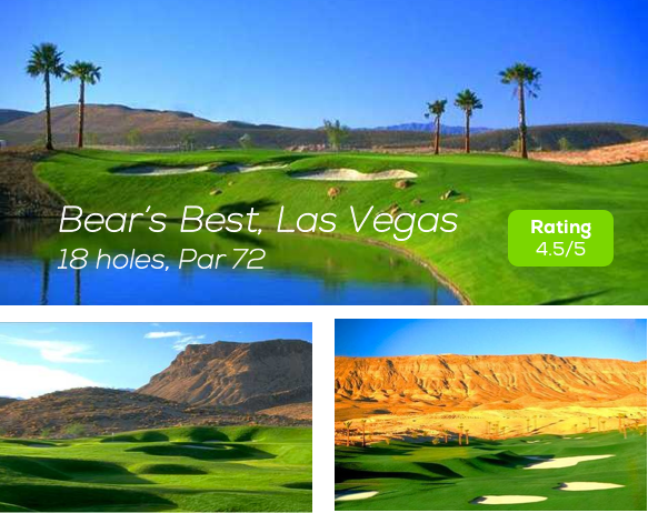Hole19 - Bear's Best Golf Course Las Vegas