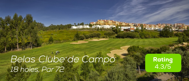 Hole19 - Belas Clube do Campo Golf Course rating