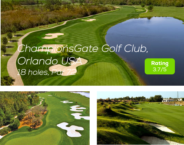 Hole19 - ChampionsGate Golf Course Orlando rating