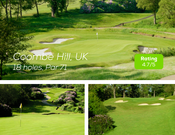 Hole19 - Coombe Hill Course rating