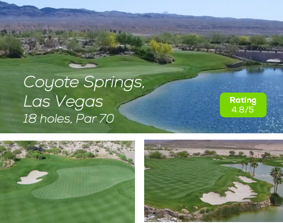 Coyote Springs Golf Course Las Vegas