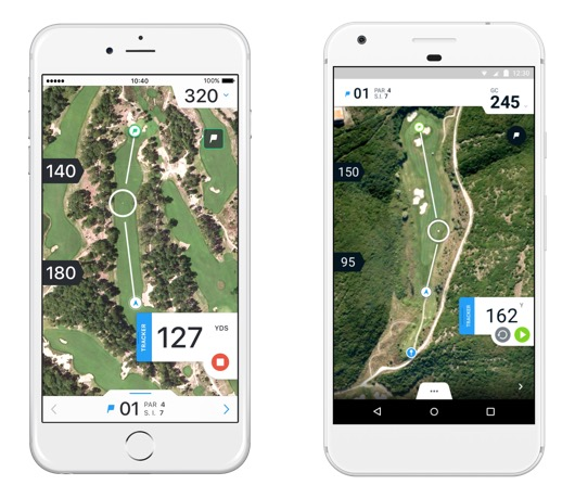 Hole19 Distance Tracker - Mobile app