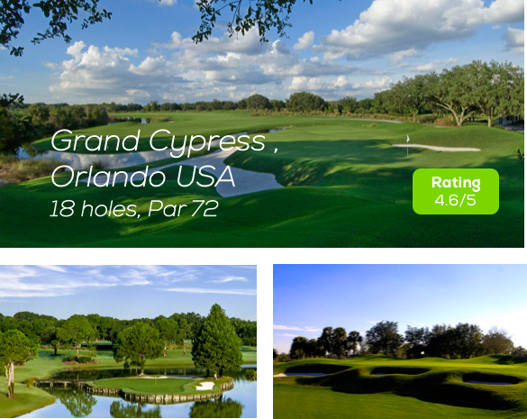 Hole19 - Grand Cypress Golf Course Orlando rating