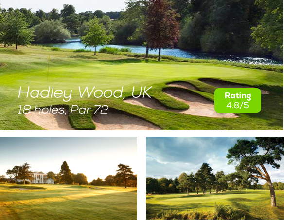 Hole19 - Hadley Wood Golf Course rating