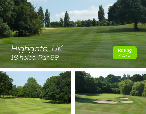 Hole19 - Highgate Golf Course rating
