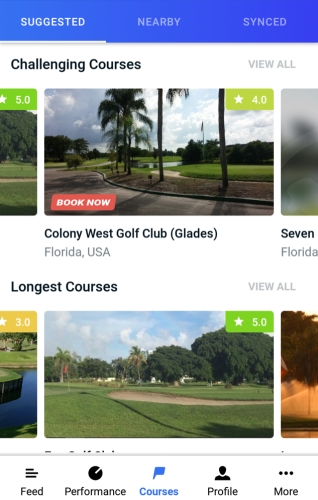 Hole19 Course Collections - Longest & Challenging Courses