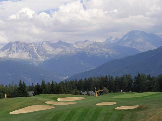 Golf Club Crans-sur-Sierre - Switzerland