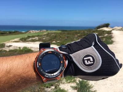 Pro Trek Smartwatch & Hole19 at West Cliffs Golf Course