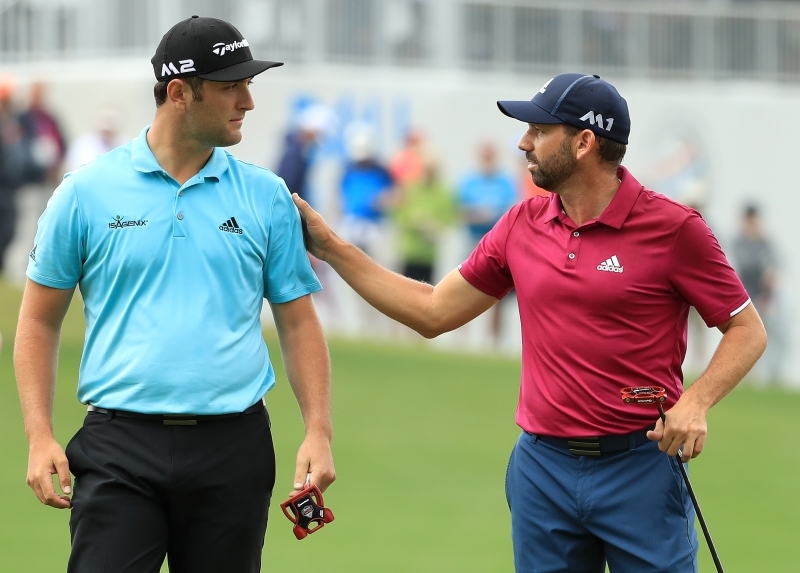 Jon Rahm & Sergio Garcia Interview