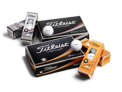 The Titleist Pro V1