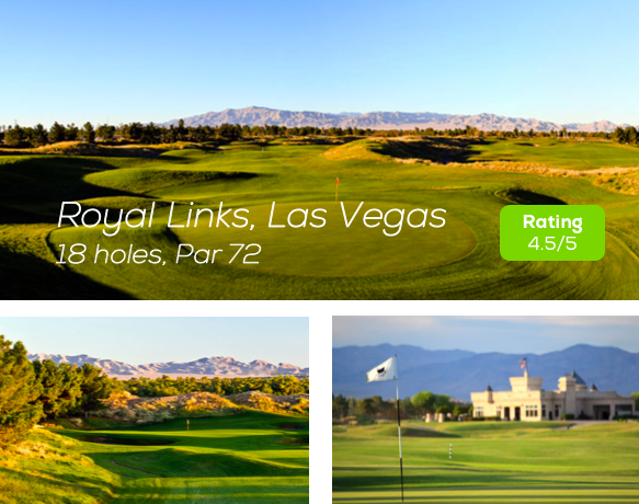 Hole19 - Royal Links Golf Course Las Vegas rating