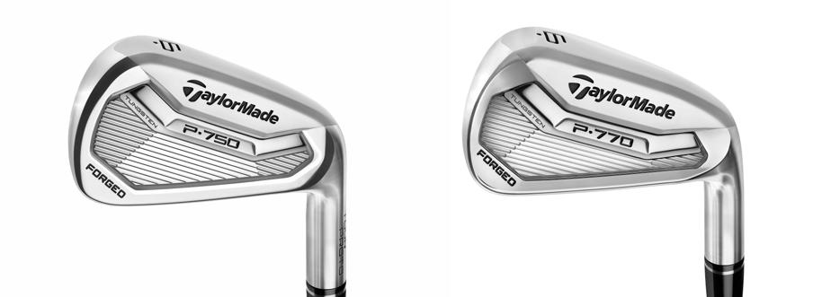 TaylorMade P770 & P750 Golf Irons