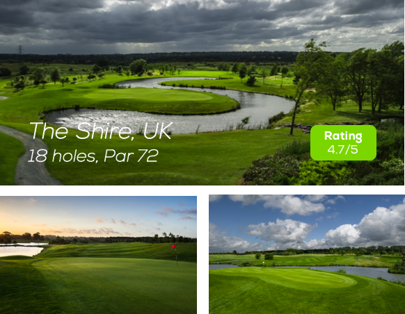 Hole19 - The Shire, London Golf Course rating