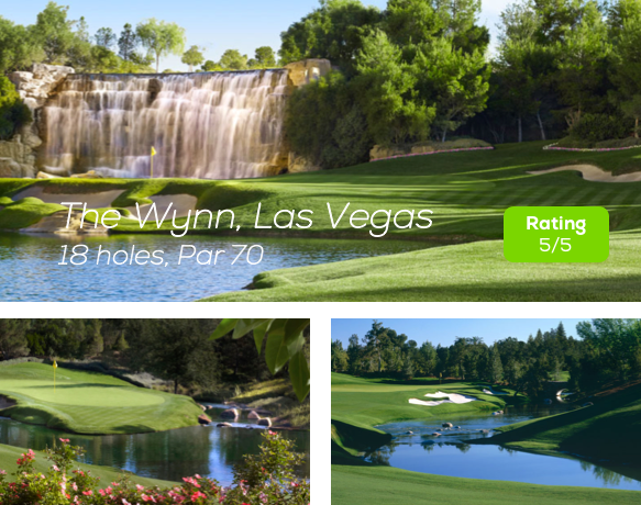 Hole19 - The Wynn Golf Course Las Vegas rating