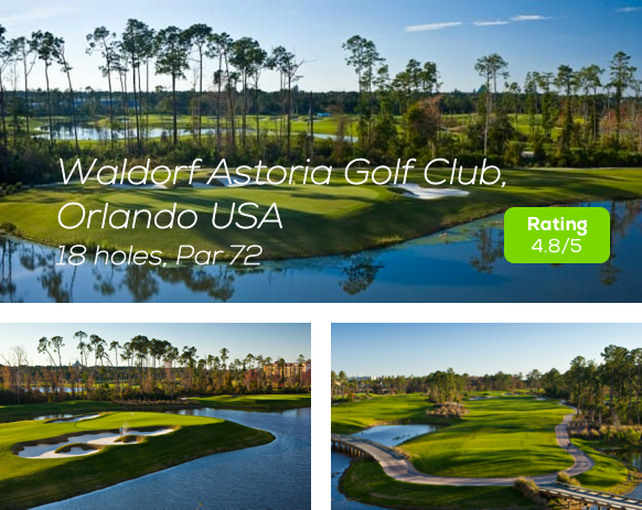 Hole19 - Waldorf Astoria Golf Course Orlando rating