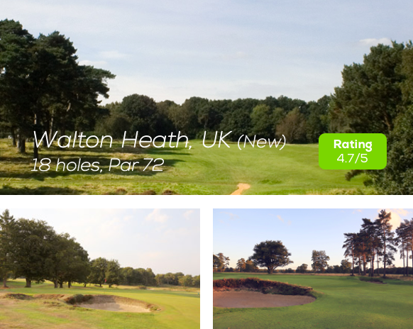 Hole19 - Walton Heath New Golf Course rating