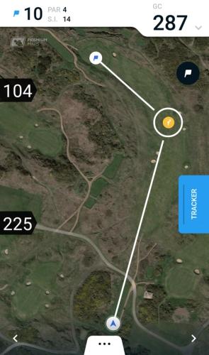 10th Hole Royal Birkdale - Hole19 Premium Map