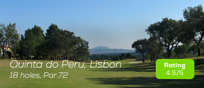 Hole19 - Quinta do Peru Course rating