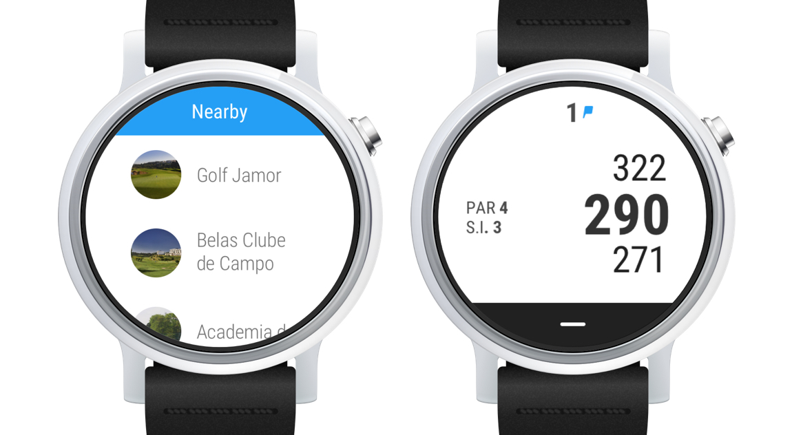 Hole19 on Android Wear 2.0